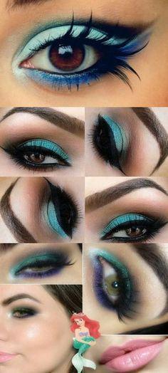Teal Smokey Eye Makeup 14 Overwhelming Smokey Eye Makeup Looks And Tutorials Pretty Designs