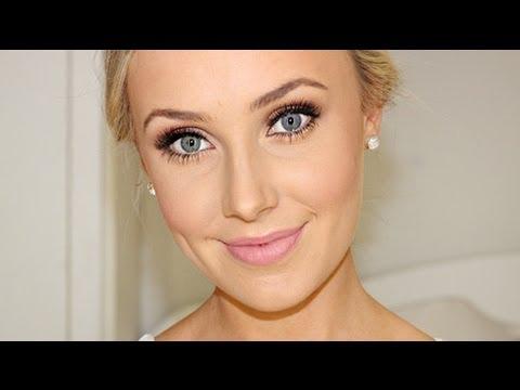 Wedding Makeup Blue Eyes Brown Hair Bridal Makeup Tutorial Youtube