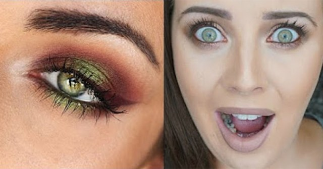 Makeup For Strawberry Blonde Hair And Green Eyes The Halloween