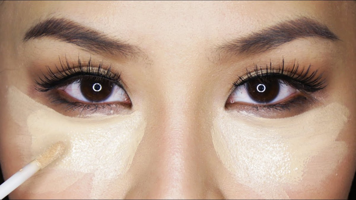 White Makeup Under Eyes How To Conceal Brighten Under Eyes Stop Creasing Youtube