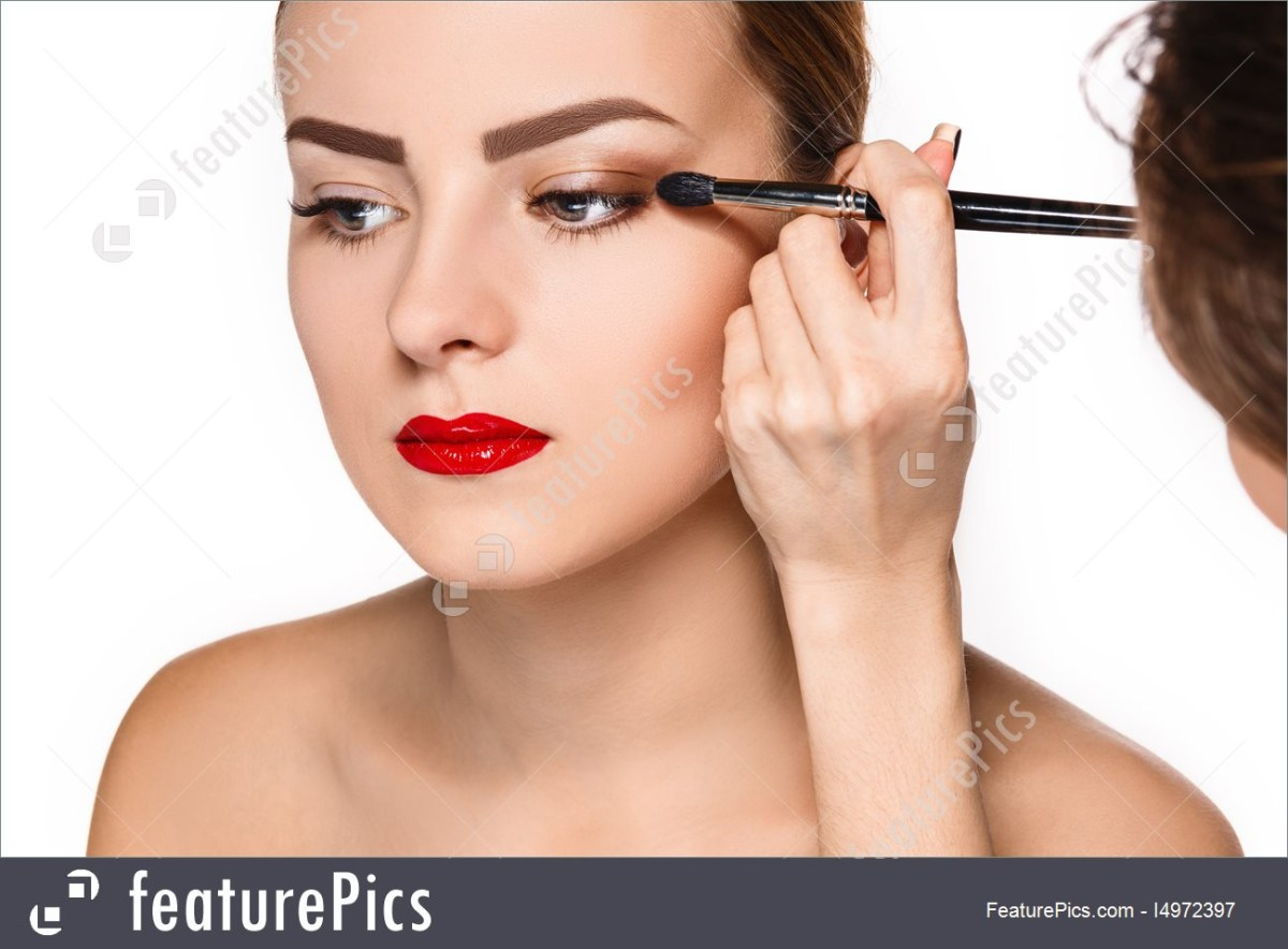 White Makeup Under Eyes Picture Of Female Eyes Makeup
