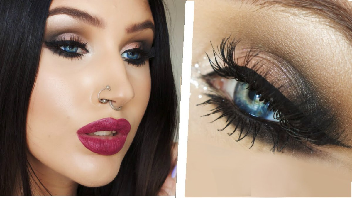 Winged Eye Makeup Arab Inspired Double Winged Eyeliner Smokey Eye Makeup Tutorial