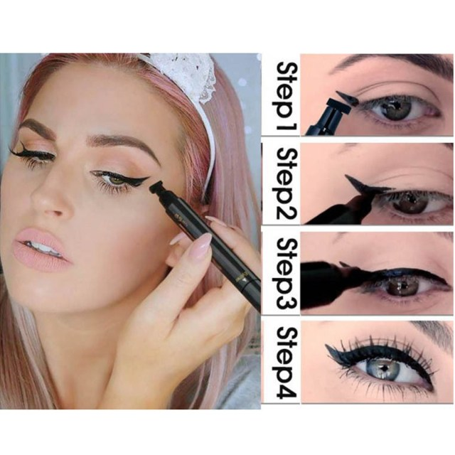 Winged Eye Makeup Miss Ross Makeup Liquid Rose Eyeliner Pencil Maquiagem Quick Dry