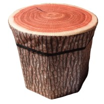 log stool laundry box - Happy New Year