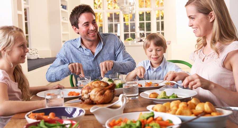 Benefits of Family Mealtime