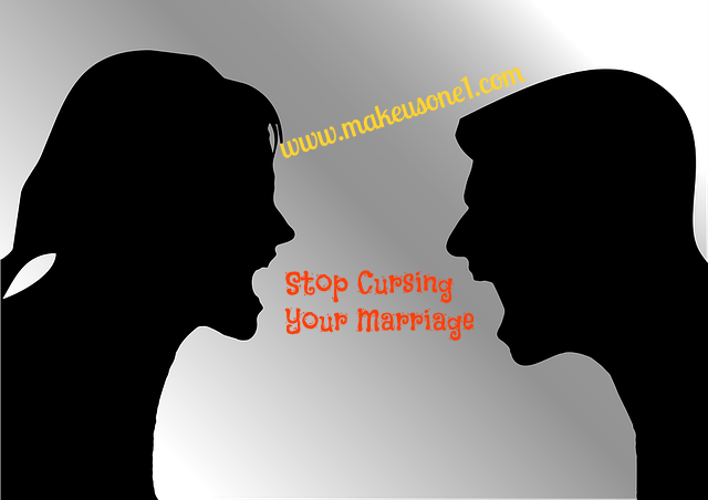 6 Word Curses that Destroy Marriages