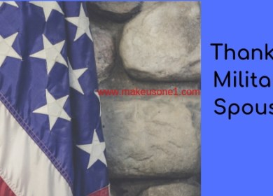 Thank a Military Spouse