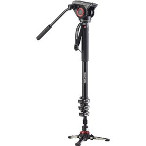 Manfrotto XPro Aluminum Monopod with 500 Series Video Head