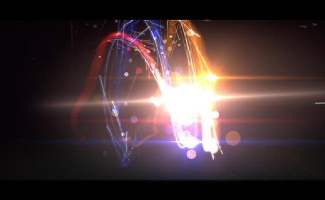 Create Fast Light Logo Reveal Animation