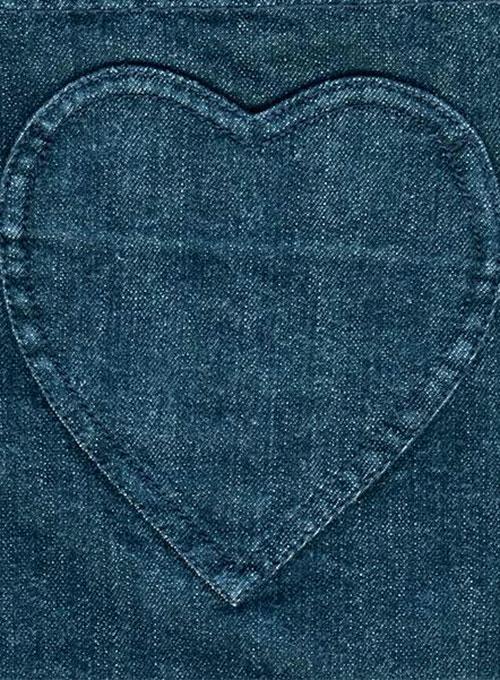 Heart Shaped Back Pocket Heart Shaped Back Pocket