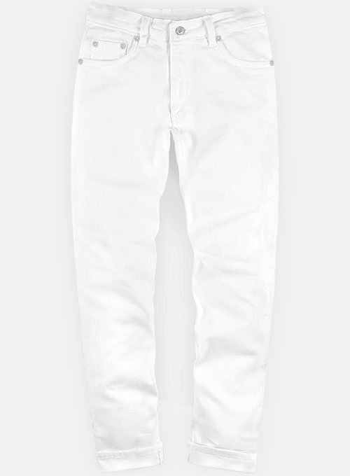 White Jeans : MakeYourOwnJeans®: Made To Measure Custom