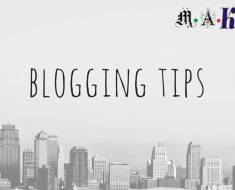 Best 7 Blogging Tips for Success