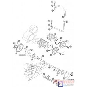 59038017000 Oil Plug KTM EXC-SX