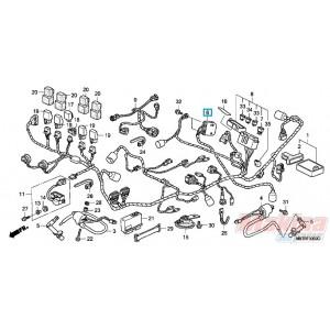 31600MBTD21 Honda Rectifier Assy XL-1000V Varadero '03-'11