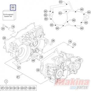 55130099001 Gasket Set KTM EXC-250-300 '08-'16