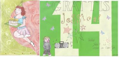 Teen Girl Happy Birthday Card