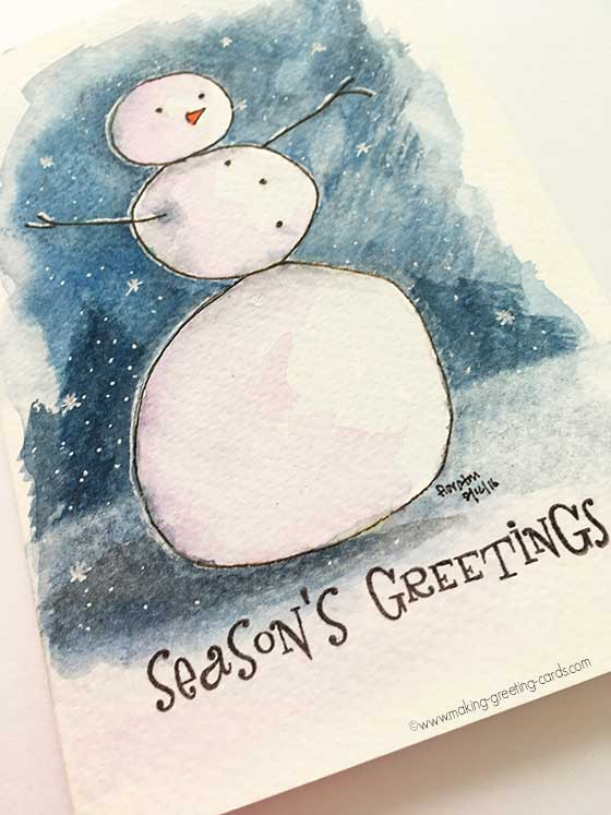 Watercolor Christmas Cards Unique Christmas