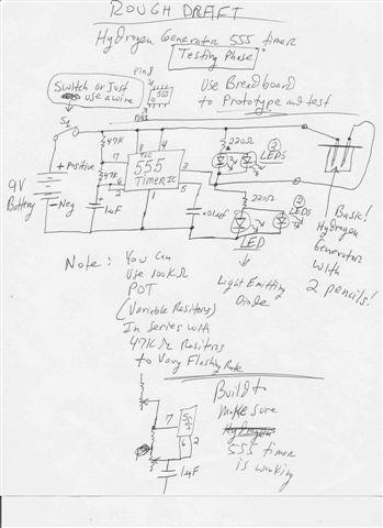 Make a Hydrogen Generator 555 Timer Pulse Width Modulation