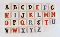 Alphabet Ceramic Tiles | Tile Design Ideas