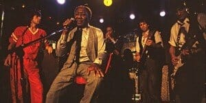 Muddy Waters with the Rolling Stones