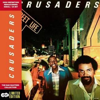 Crusaders - Street Life jacket front with spine folder