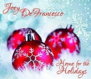 Joey DeFrancesco - Home for the holidays Cover 1x1 300dpi