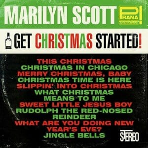 Marilyn Scott Get Christmas Started! -cover
