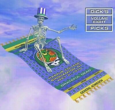 Grateful Dead Dick's Picks Volume 8 Harpur College, NY