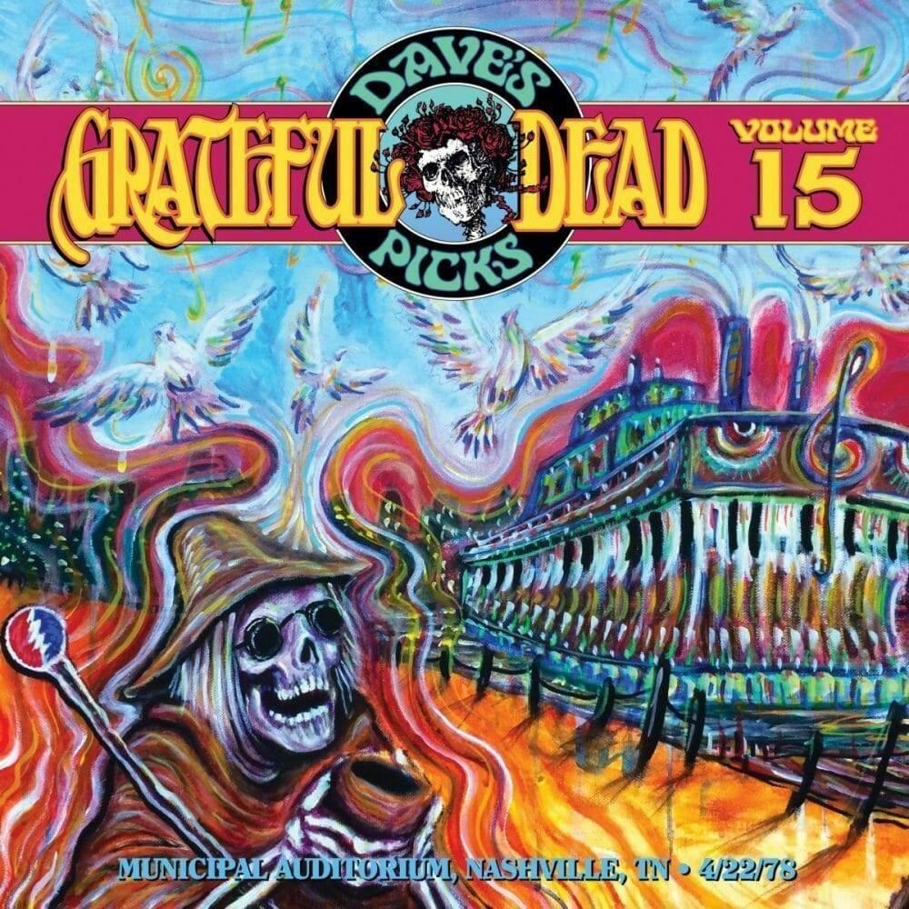 Grateful Dead Dave's Picks 15 cover