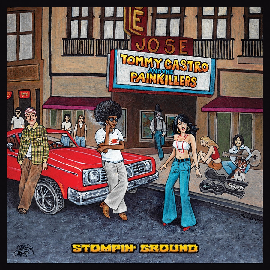 Tommy Castro and The Painkillers  Stompin' Ground