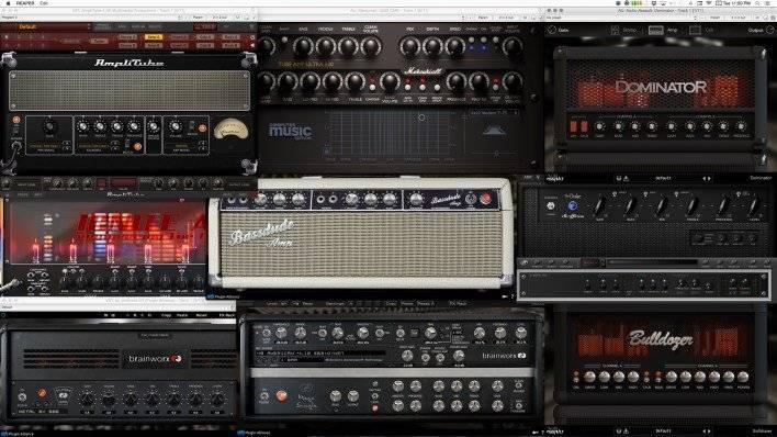 Gain Staging for Amplifier Models