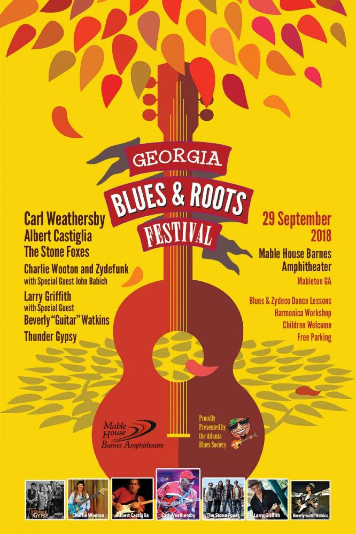 Georgia Blues and Roots Festival 2018!