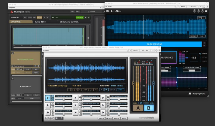 Mixing Reference Tools Compared!