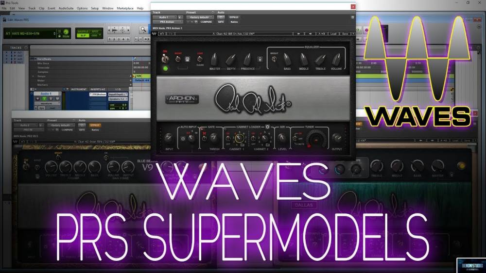 Review of Waves PRS Amp Models