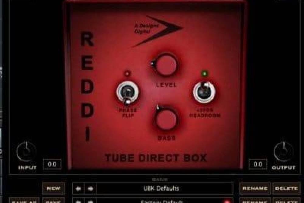 REDDI-Bass-DI-plugin-by-Kush-Audio-Review-in-CuBase