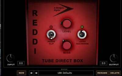 REDDI-Bass-DI-plugin-by-Kush-Audio-Review-in-CuBase