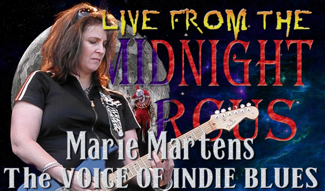 LIVE from the Midnight Circus Featuring Marie Martins and the Messarounds