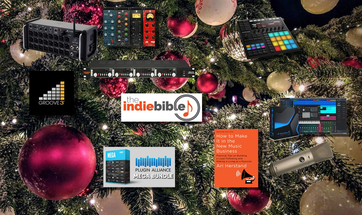 Top 10 Christmas Gifts for the Indie Artists