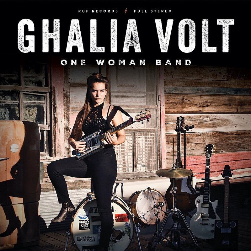 Ghalia Volt One Woman Band