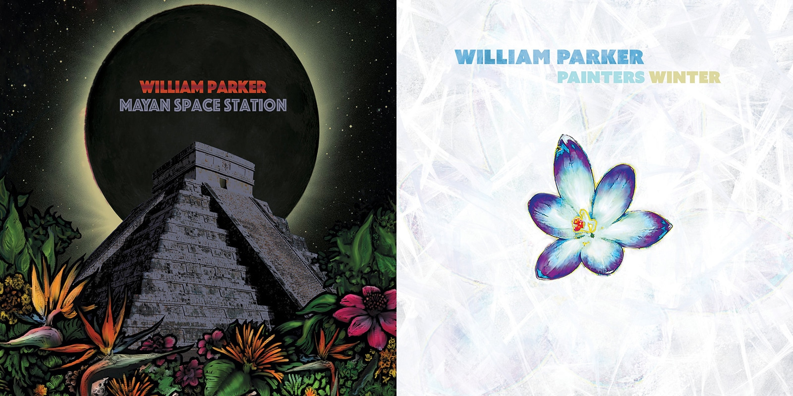 William Parker Mayan Space Station - Painter's Winter