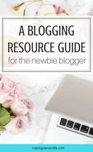 Are you starting a blog and don't know where to start? Get these blogging resources to help you start off in the right direction!