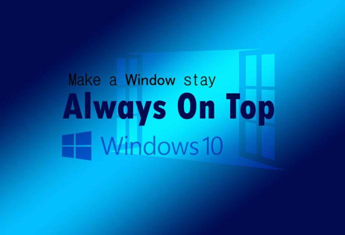 Image result for always on top windows 10