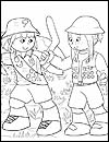 International Girl Guide Coloring Pages