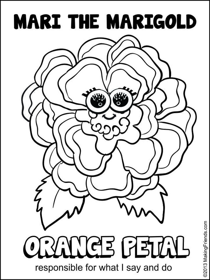 responsibility coloring pages - photo#20