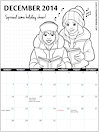 Girl Scout Printable Calendars