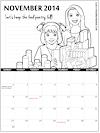 Girl Scout Printable Calendars