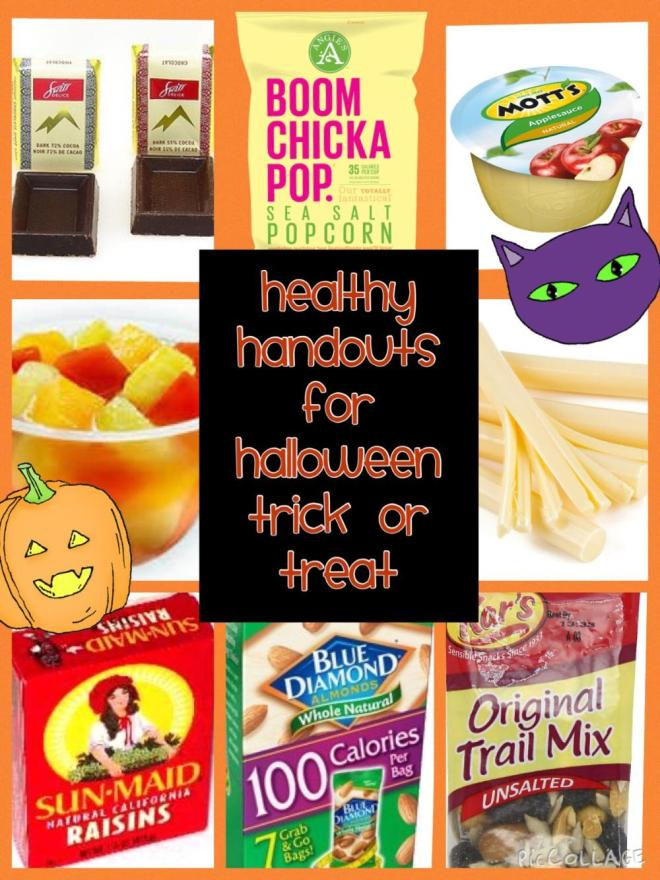 Healthy Handouts for Halloween Trick or Treat