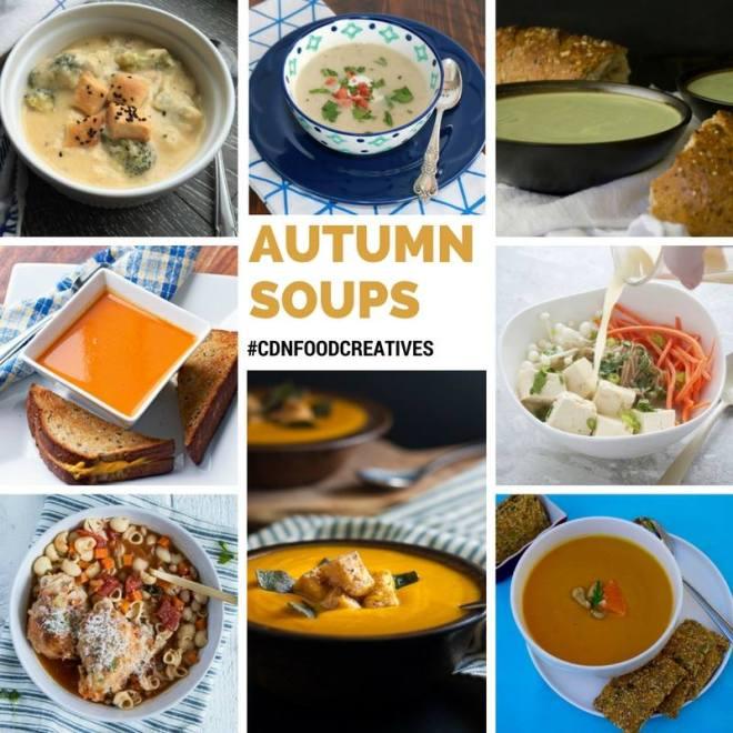 Autumn Soups #CDNFOODCREATIVES
