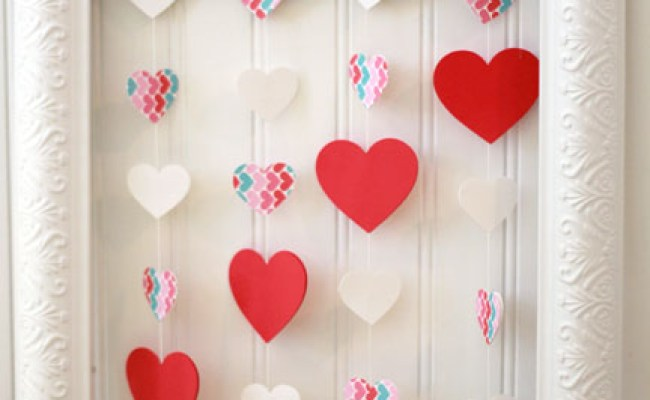 Valentine S Day Floating Heart Wall Art Making Home Base