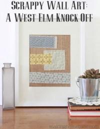 West Elm Knock Off Wall Art